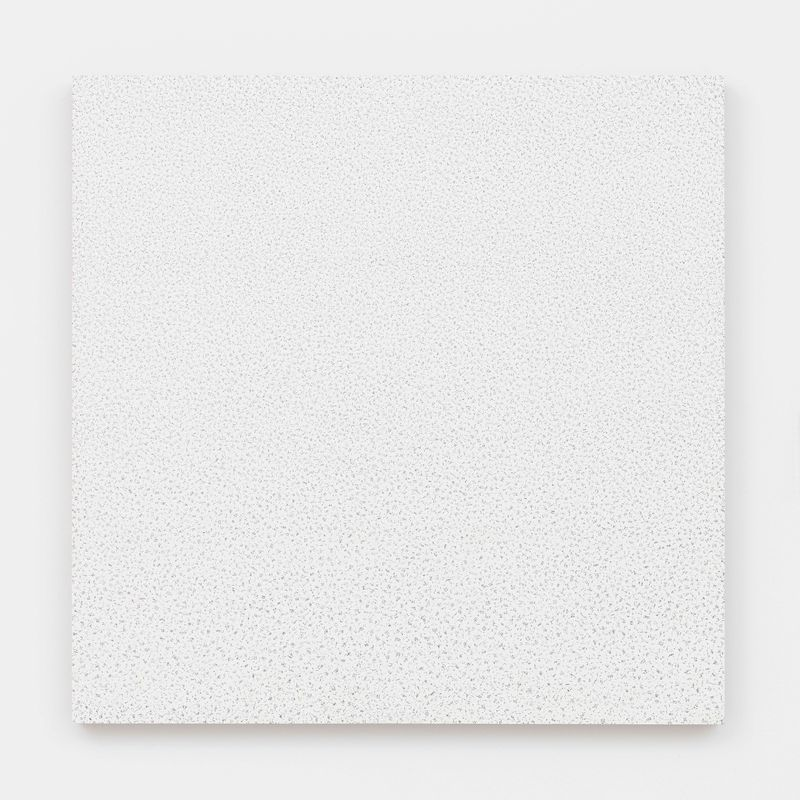 90,934, 2019, eggshell, wood, 75 x 75 x 4 cm | 29 1/2 x 29 1/2 x 1 9/16 inch