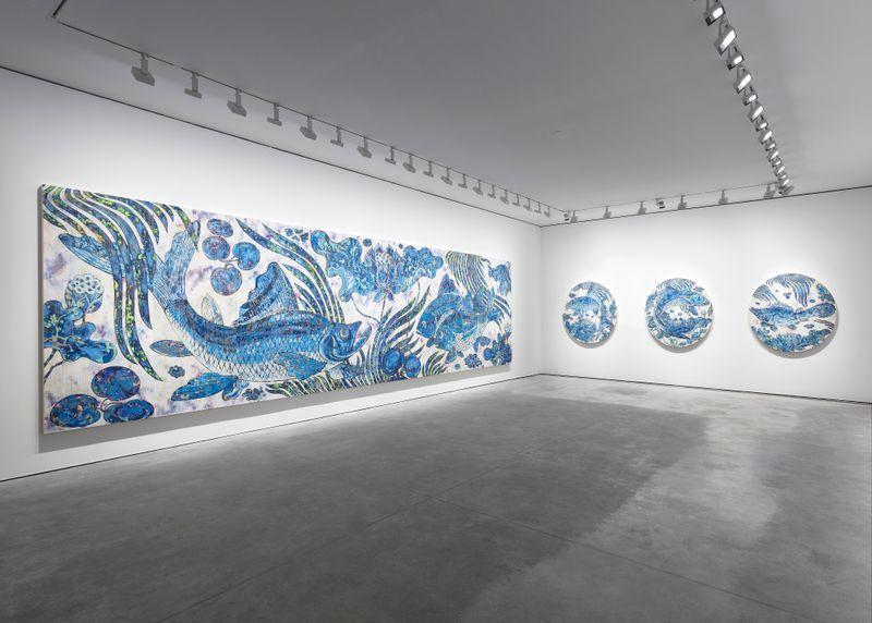 "Takashi_Murakami_View of the exhibition ""Baka"" at GALERIE PERROTIN PARIS (France), 2019_21362"