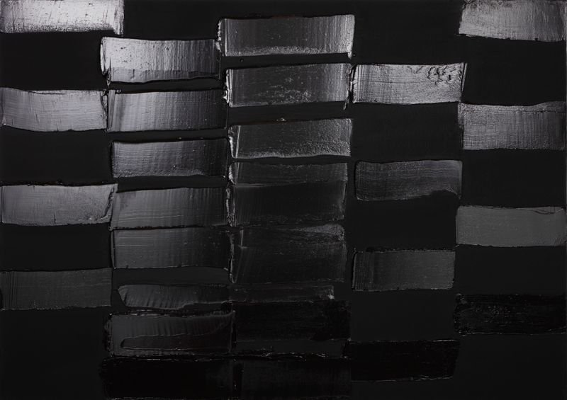 Pierre_Soulages_View of the exhibition  at Perrotin, Shanghai (Chine), 2019_21391