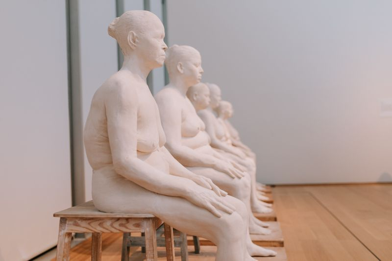 """Bharti_Kher_View of the group exhibition """"In the Company of Artists, 25 Years of Artists-In-Residence"""" at ISABELLA STEWART GARDNER MUSEUM BOSTON (USA)_21396"""