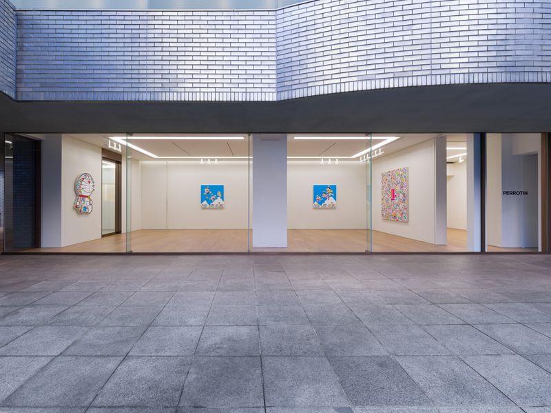 "Takashi_Murakami_View of the exhibition ""Superflat Doraemon"" at Perrotin, Tokyo (Japon), 2019_21593"