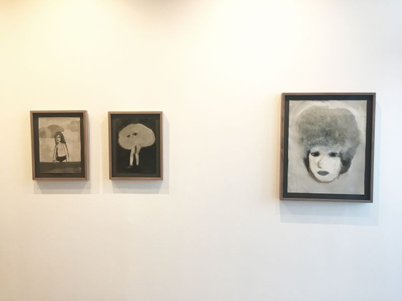 """Klara_Kristalova_View of the group exhibition """"Shades of Existence"""" at Teckningsmuseet i Laholm  Laholm (Sweden)_21641"""