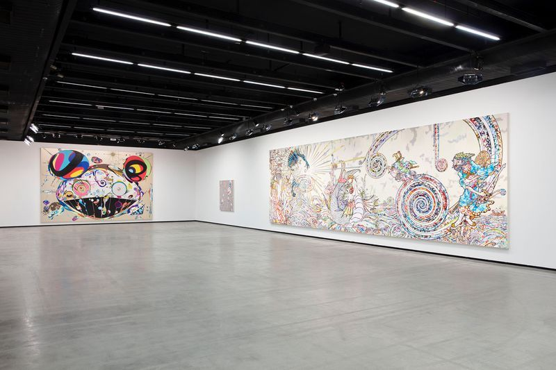 "Takashi_Murakami_View of the exhibition ""Murakami by Murakami"" at INSTITUTO TOMIE OHTAKE MUSEUM Sao Paulo (Brazil), 2019_21697"