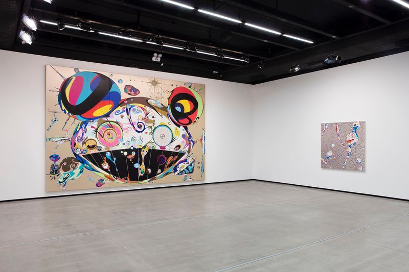 "Takashi_Murakami_View of the exhibition ""Murakami by Murakami"" at INSTITUTO TOMIE OHTAKE MUSEUM Sao Paulo (Brazil), 2019_21700"
