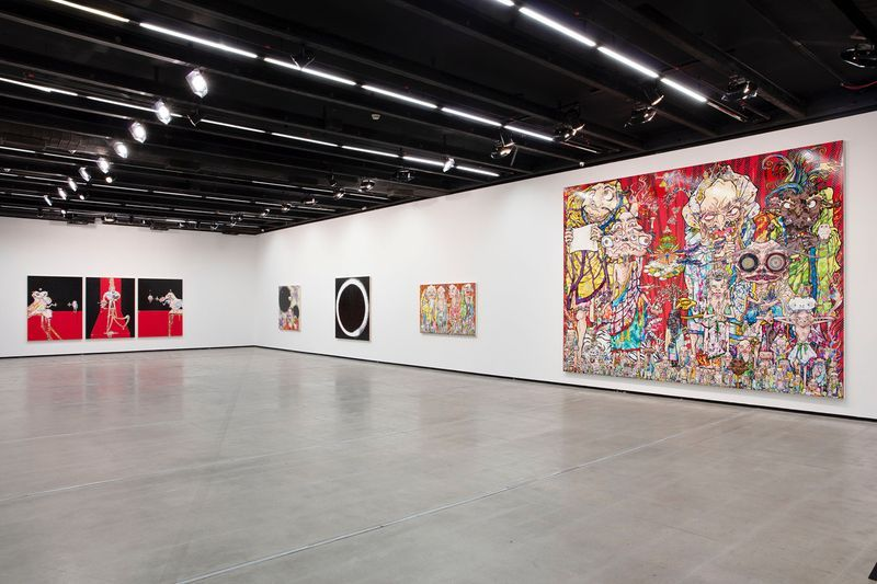 "Takashi_Murakami_View of the exhibition ""Murakami by Murakami"" at INSTITUTO TOMIE OHTAKE MUSEUM Sao Paulo (Brazil), 2019_21702"