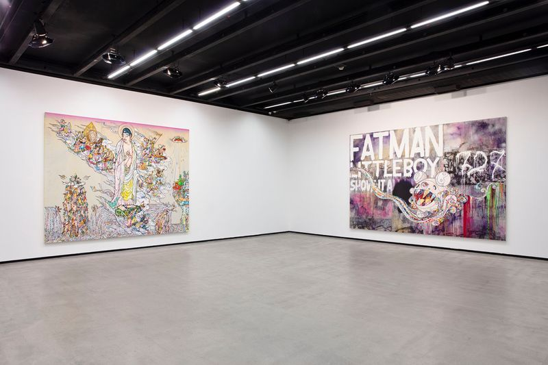"Takashi_Murakami_View of the exhibition ""Murakami by Murakami"" at INSTITUTO TOMIE OHTAKE MUSEUM Sao Paulo (Brazil), 2019_21703"