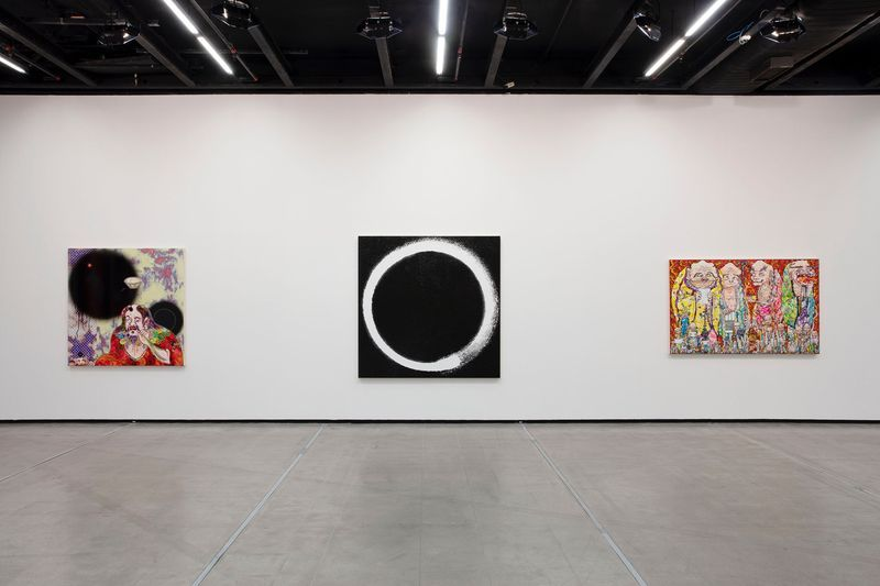 "Takashi_Murakami_View of the exhibition ""Murakami by Murakami"" at INSTITUTO TOMIE OHTAKE MUSEUM Sao Paulo (Brazil), 2019_21705"