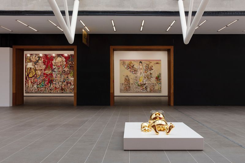 "Takashi_Murakami_View of the exhibition ""Murakami by Murakami"" at INSTITUTO TOMIE OHTAKE MUSEUM Sao Paulo (Brazil), 2019_21711"