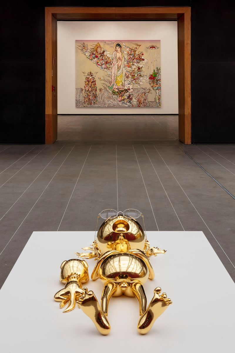 "Takashi_Murakami_View of the exhibition ""Murakami by Murakami"" at INSTITUTO TOMIE OHTAKE MUSEUM Sao Paulo (Brazil), 2019_21712"