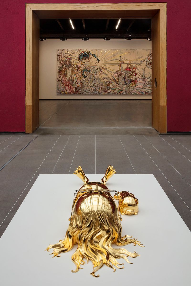"Takashi_Murakami_View of the exhibition ""Murakami by Murakami"" at INSTITUTO TOMIE OHTAKE MUSEUM Sao Paulo (Brazil), 2019_21714"