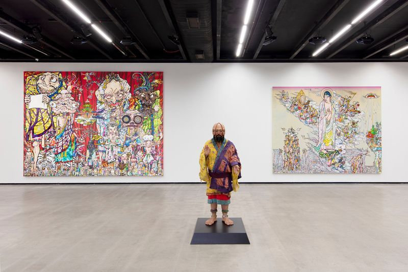 "Takashi_Murakami_View of the exhibition ""Murakami by Murakami"" at INSTITUTO TOMIE OHTAKE MUSEUM Sao Paulo (Brazil), 2019_21728"