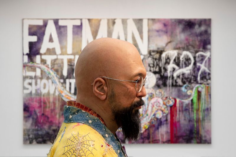 "Takashi_Murakami_View of the exhibition ""Murakami by Murakami"" at INSTITUTO TOMIE OHTAKE MUSEUM Sao Paulo (Brazil), 2019_21729"