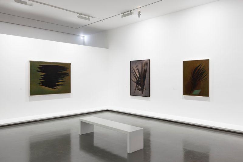 """Hans_Hartung_View of the exhibition """"La fabrique du geste"""" curated by Odile Burluraux  at MusÉe D'art Moderne De La Ville De Paris  PARIS (France), 2019_21734"""