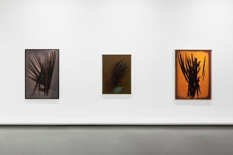 """Hans_Hartung_View of the exhibition """"La fabrique du geste"""" curated by Odile Burluraux  at MusÉe D'art Moderne De La Ville De Paris  PARIS (France), 2019_21735"""