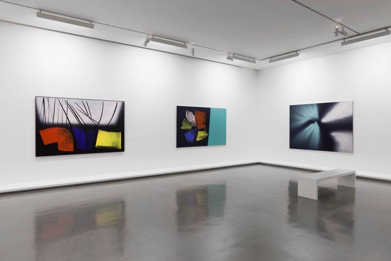 """Hans_Hartung_View of the exhibition """"La fabrique du geste"""" curated by Odile Burluraux  at MusÉe D'art Moderne De La Ville De Paris  PARIS (France), 2019_21737"""