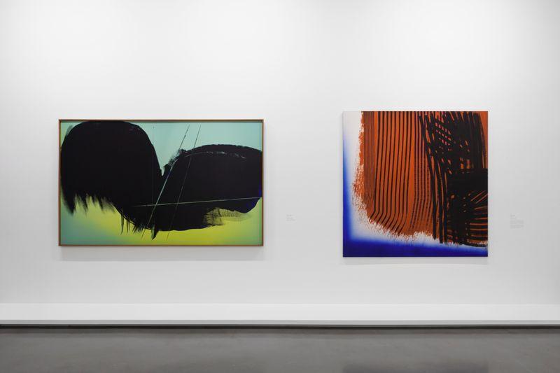 """Hans_Hartung_View of the exhibition """"La fabrique du geste"""" curated by Odile Burluraux  at MusÉe D'art Moderne De La Ville De Paris  PARIS (France), 2019_21738"""