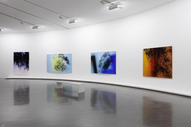 """Hans_Hartung_View of the exhibition """"La fabrique du geste"""" curated by Odile Burluraux  at MusÉe D'art Moderne De La Ville De Paris  PARIS (France), 2019_21742"""