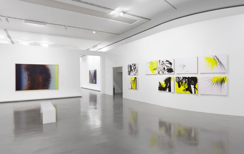 """Hans_Hartung_View of the exhibition """"La fabrique du geste"""" curated by Odile Burluraux  at MusÉe D'art Moderne De La Ville De Paris  PARIS (France), 2019_21743"""