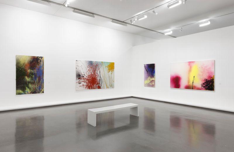 """Hans_Hartung_View of the exhibition """"La fabrique du geste"""" curated by Odile Burluraux  at MusÉe D'art Moderne De La Ville De Paris  PARIS (France), 2019_21744"""