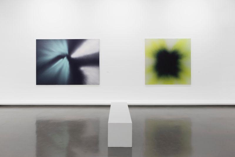 """Hans_Hartung_View of the exhibition """"La fabrique du geste"""" curated by Odile Burluraux  at MusÉe D'art Moderne De La Ville De Paris  PARIS (France), 2019_21746"""