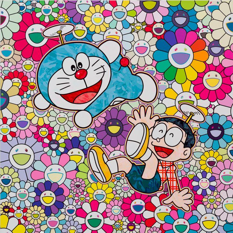 ©2019 Takashi Murakami/Kaikai Kiki Co., Ltd. All Rights Reserved. ©Fujiko-Pro.
