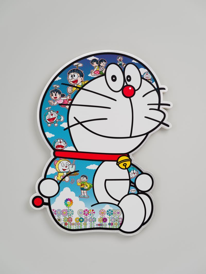 "Takashi_Murakami_View of the exhibition ""Superflat Doraemon"" at Perrotin, Tokyo (Japon), 2019_22095"