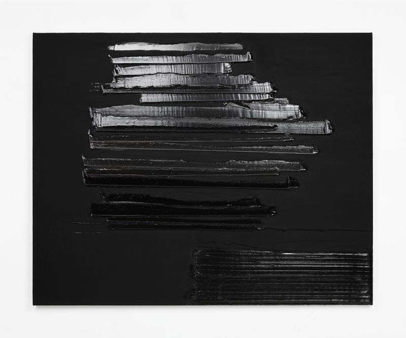 Pierre_Soulages_View of the exhibition  at Perrotin, Shanghai (Chine), 2019_22096