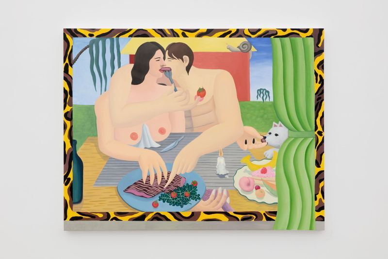 GaHee ParkEarly Supper, 2019Oil on canvas116.8 x 152.4 cm | 46 x 60 inch