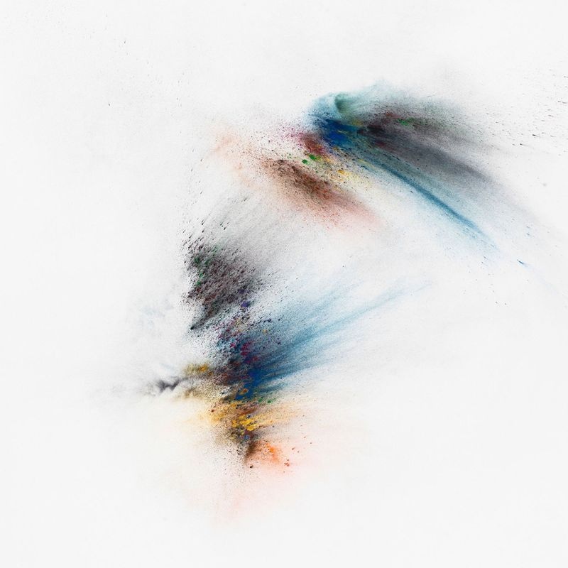 Thilo Heinzmann, O.T., 2018. Oil and pigment on canvas, plexiglass cover.218 x 196 x 11 cm | 85 13/16 x 77 3/16 x 4 5/16 inch. Courtesy of the artist and Perrotin.