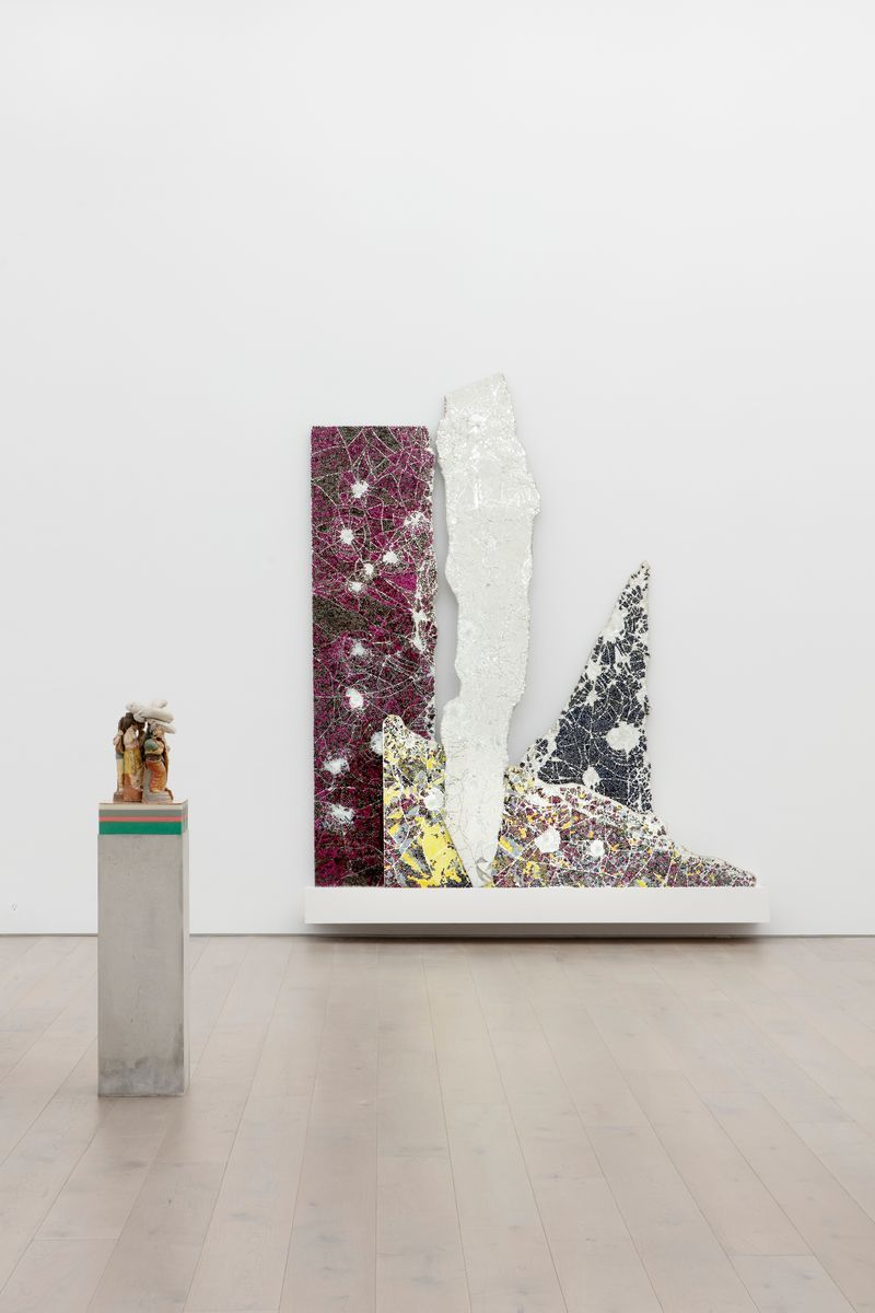"""Bharti_Kher_View of the exhibition """"The Unexpected Freedom of Chaos"""" at NEW YORK Gallery LLC  New York (USA), 2020_22312"""