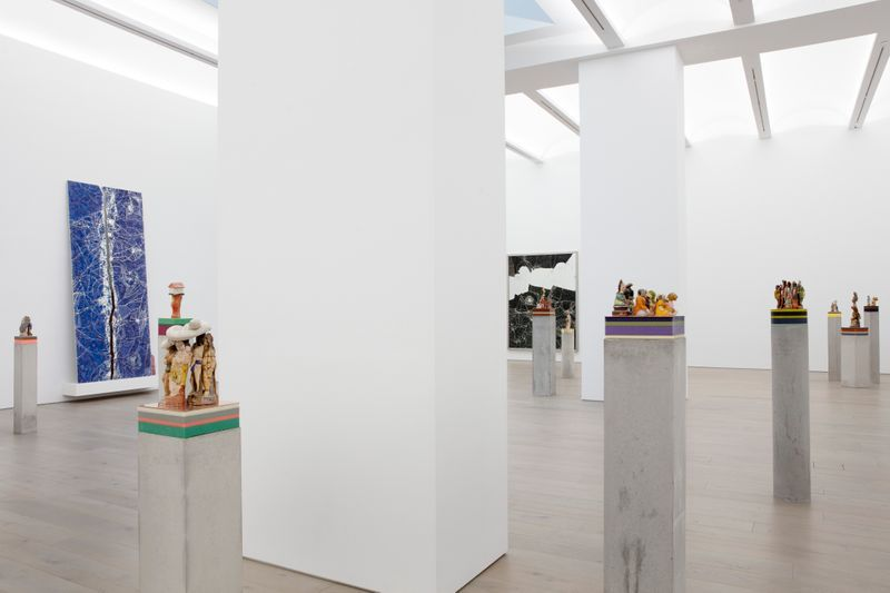 """Bharti_Kher_View of the exhibition """"The Unexpected Freedom of Chaos"""" at NEW YORK Gallery LLC  New York (USA), 2020_22313"""