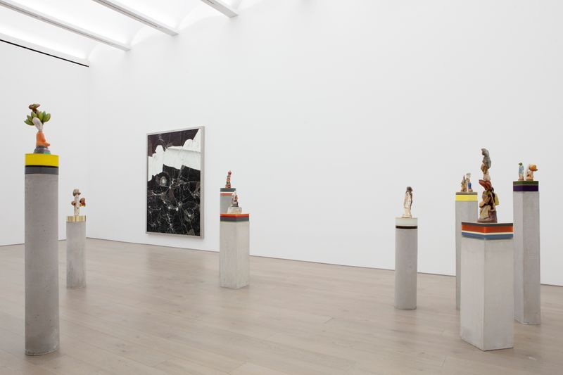 """Bharti_Kher_View of the exhibition """"The Unexpected Freedom of Chaos"""" at NEW YORK Gallery LLC  New York (USA), 2020_22314"""