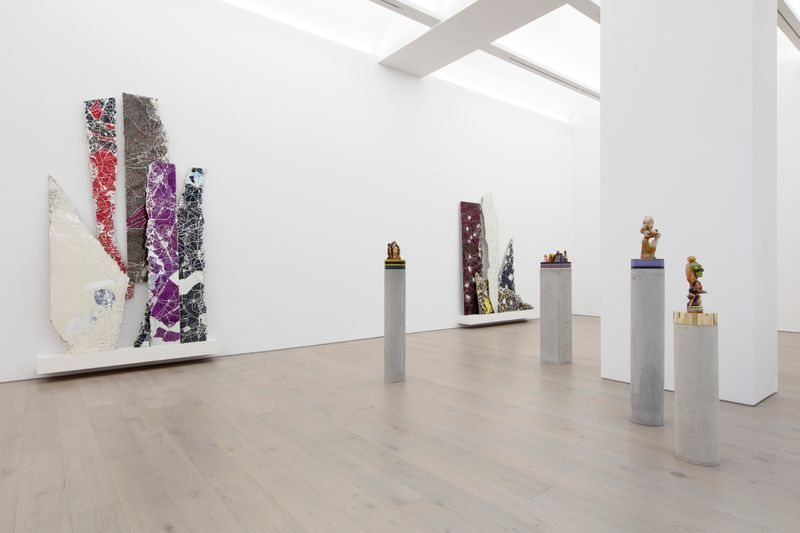 """Bharti_Kher_View of the exhibition """"The Unexpected Freedom of Chaos"""" at NEW YORK Gallery LLC  New York (USA), 2020_22319"""