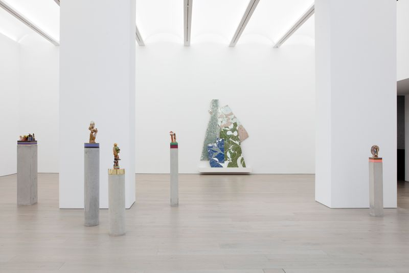 """Bharti_Kher_View of the exhibition """"The Unexpected Freedom of Chaos"""" at NEW YORK Gallery LLC  New York (USA), 2020_22320"""