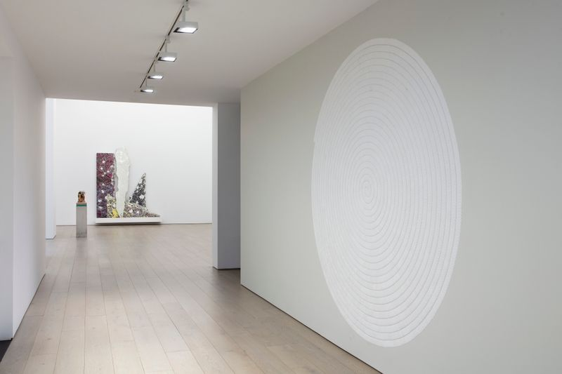 """Bharti_Kher_View of the exhibition """"The Unexpected Freedom of Chaos"""" at NEW YORK Gallery LLC  New York (USA), 2020_22513"""