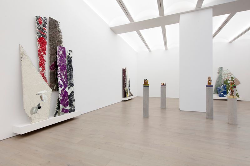 """Bharti_Kher_View of the exhibition """"The Unexpected Freedom of Chaos"""" at NEW YORK Gallery LLC  New York (USA), 2020_22514"""