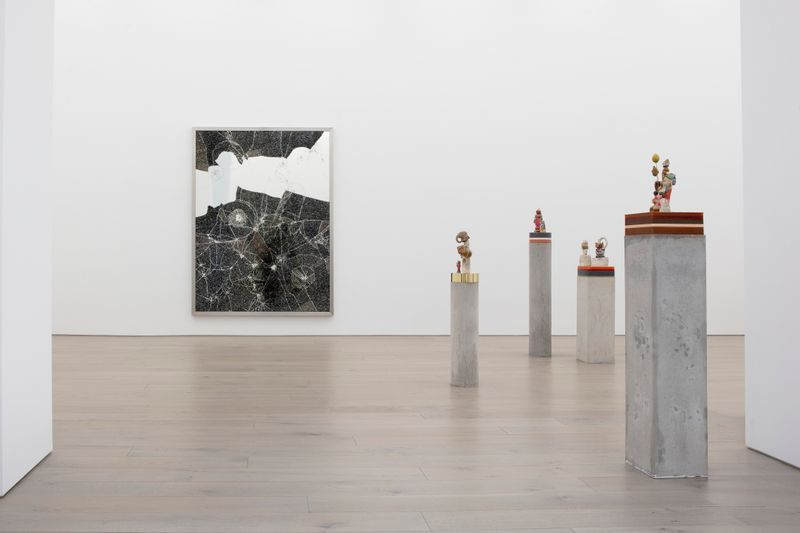 """Bharti_Kher_View of the exhibition """"The Unexpected Freedom of Chaos"""" at NEW YORK Gallery LLC  New York (USA), 2020_22515"""