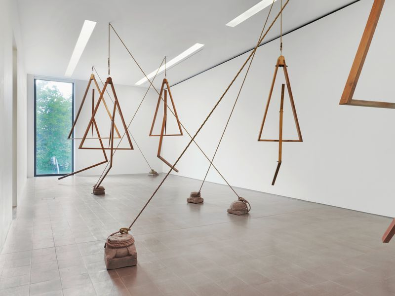 "Bharti_Kher_View of the exhibition ""Bharti Kher"" at Pasquart Kunsthaus Centre d'art BIENNE (Switzerland), 2018_22662"