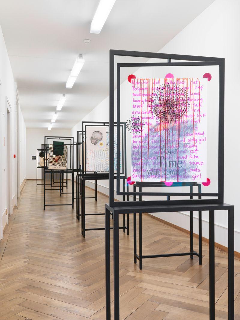 "Bharti_Kher_View of the exhibition ""Bharti Kher"" at Pasquart Kunsthaus Centre d'art BIENNE (Switzerland), 2018_22664"