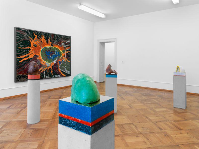 "Bharti_Kher_View of the exhibition ""Bharti Kher"" at Pasquart Kunsthaus Centre d'art BIENNE (Switzerland), 2018_22666"