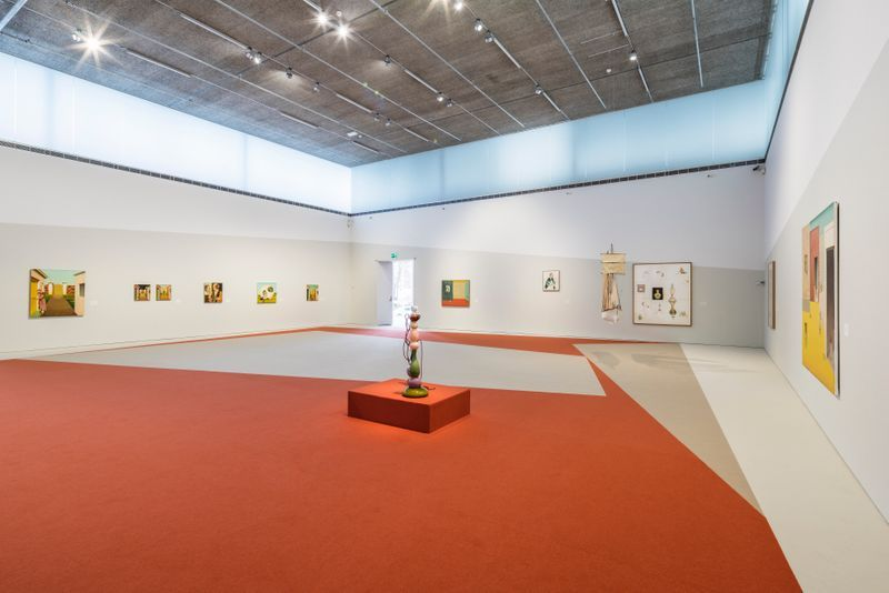 """Jens_Fange_View of the exhibition """"Drömmarna"""" at BONNIERS KONSTHALL  STOCKHOLM (Sweden), 2018_22896"""