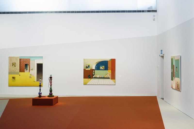 """Jens_Fange_View of the exhibition """"Drömmarna"""" at BONNIERS KONSTHALL  STOCKHOLM (Sweden), 2018_22898"""