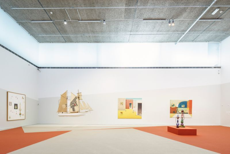 """Jens_Fange_View of the exhibition """"Drömmarna"""" at BONNIERS KONSTHALL  STOCKHOLM (Sweden), 2018_22900"""