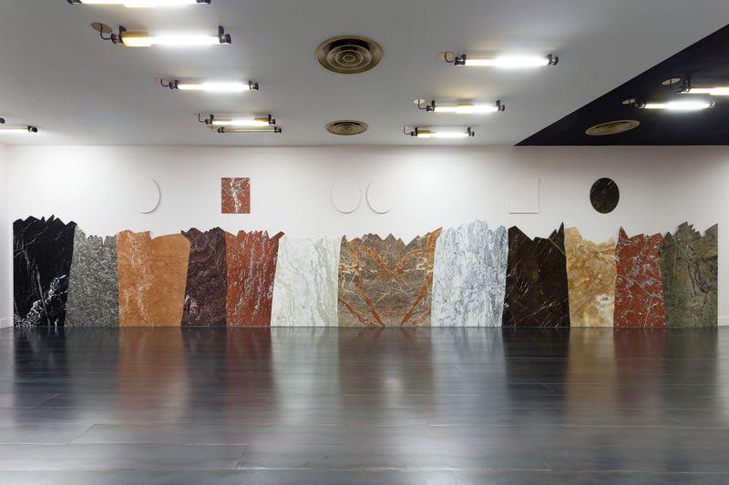 "Claude_Rutault_""- de la peinture, sire..."" at CHATEAU DE VERSAILLES (France), 2015_22907"