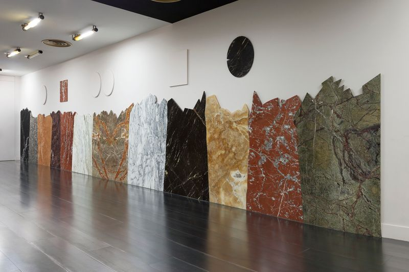 "Claude_Rutault_""- de la peinture, sire..."" at CHATEAU DE VERSAILLES (France), 2015_22908"
