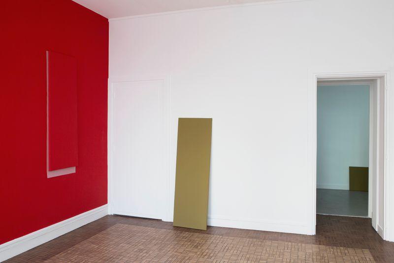 """Claude_Rutault_View of the exhibition """"AMZ ou le soleil brille pour tout le monde"""" curated by Daniel Bosser  at Fondation Hippocrène Paris (France), 2015_22916"""