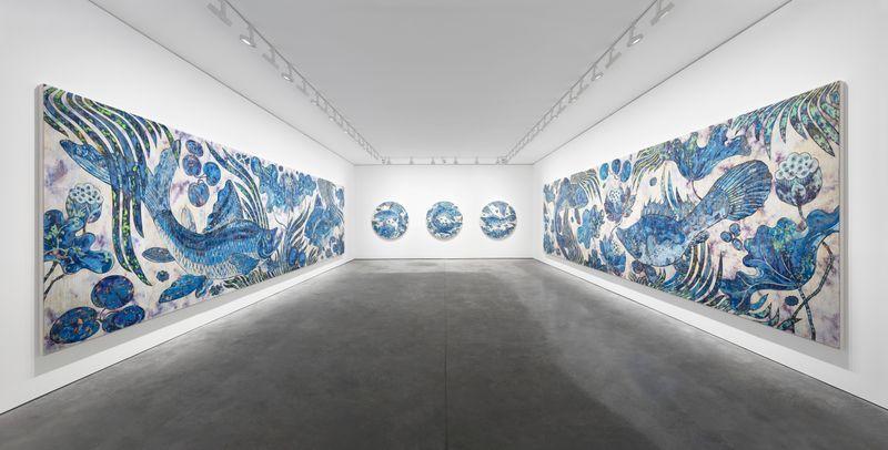 "Takashi_Murakami_View of the exhibition ""Baka"" at GALERIE PERROTIN PARIS (France), 2019_23061"