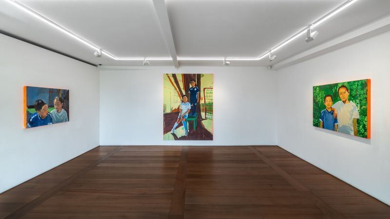 """claire_tabouret_View of the exhibition """"SIBLINGS"""" at SEOUL Gallery  Seoul (Corée du Sud), 2020_23336"""