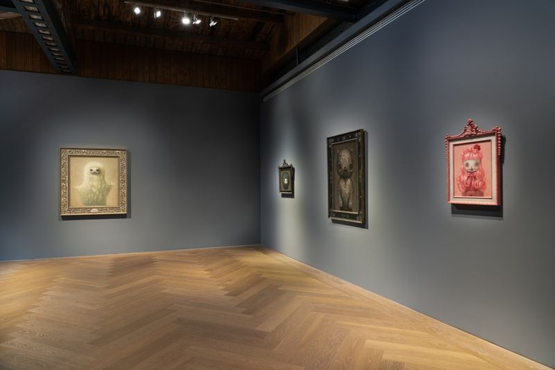 "View of the exhibition ""Mark Ryden: Anima Animals"" at Perrotin Shanghai, 2020."