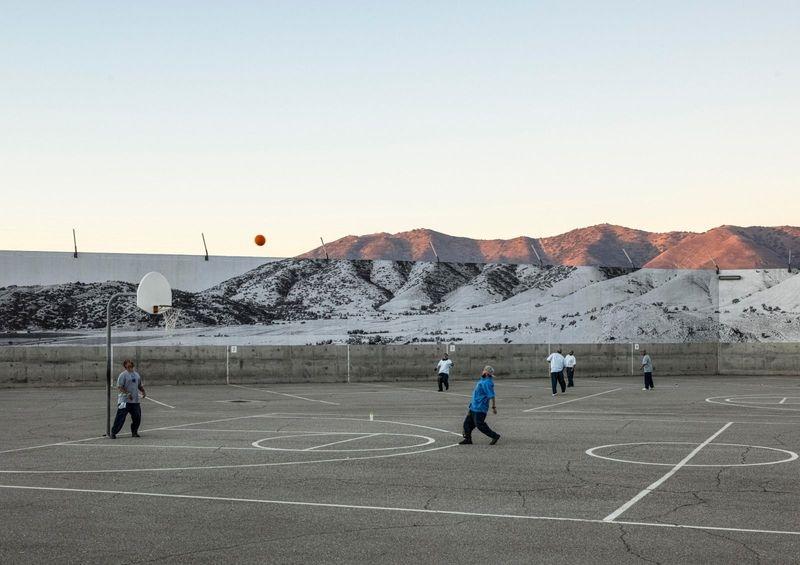 Tehachapi, Mountain, February 7, 2020, 6.27p.m., U.S.A., 2020